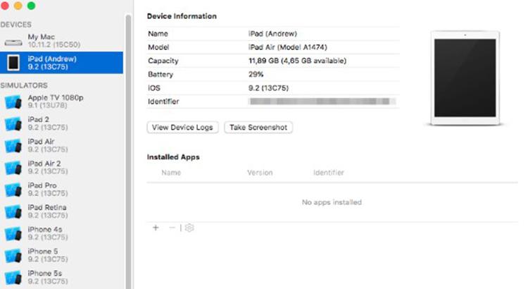 Xcode запуск приложения на iPhone
