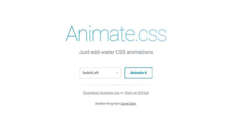 Как использовать animate.css