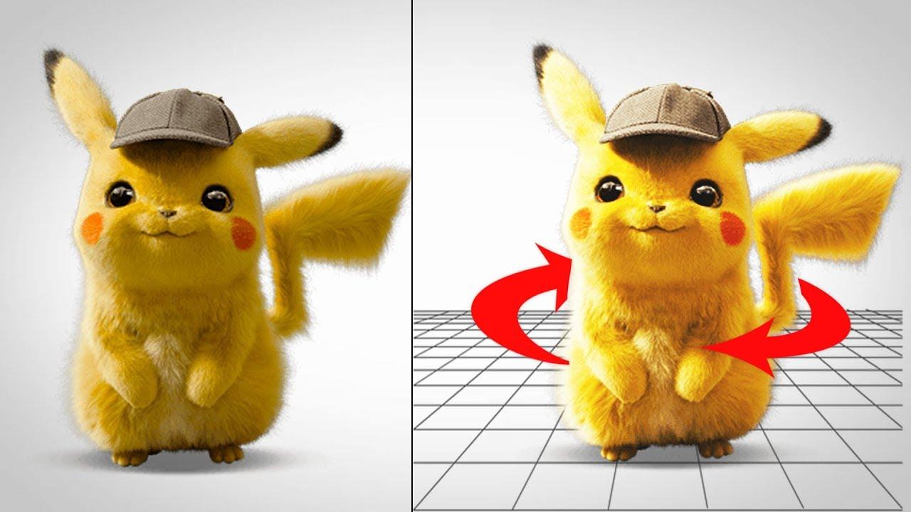 3D фотоэффект изображения на JavaScript